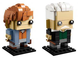LEGO BrickHeadz Newt Scamander & Gellert Grindelwald