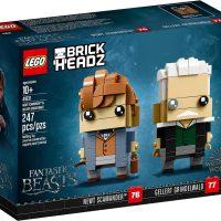 LEGO BrickHeadz Newt Scamander Gellert Grindelwald Box