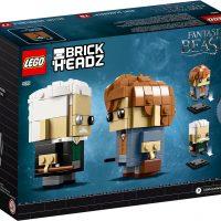 LEGO BrickHeadz Newt Scamander & Gellert Grindelwald Box Back