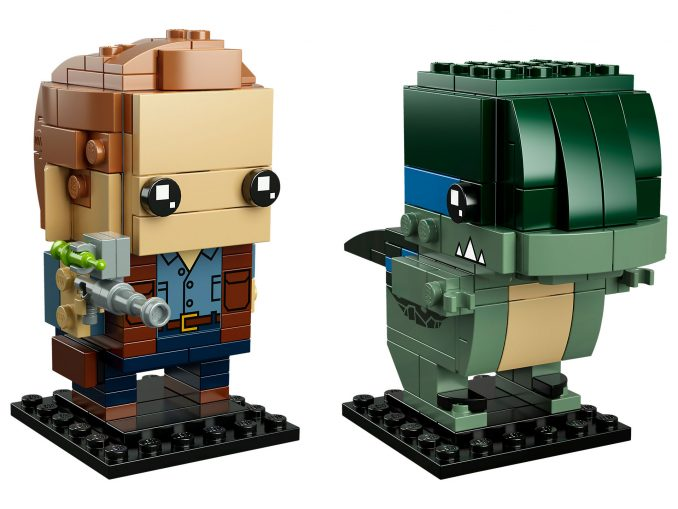 LEGO BrickHeadz Owen and Blue