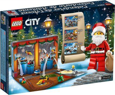 LEGO City Advent Calendar 2018 Box Back