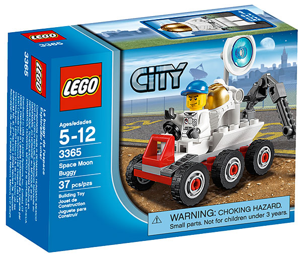 LEGO City Space Moon Buggy