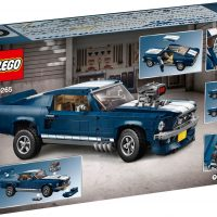 LEGO Creator Ford Mustang Box Back