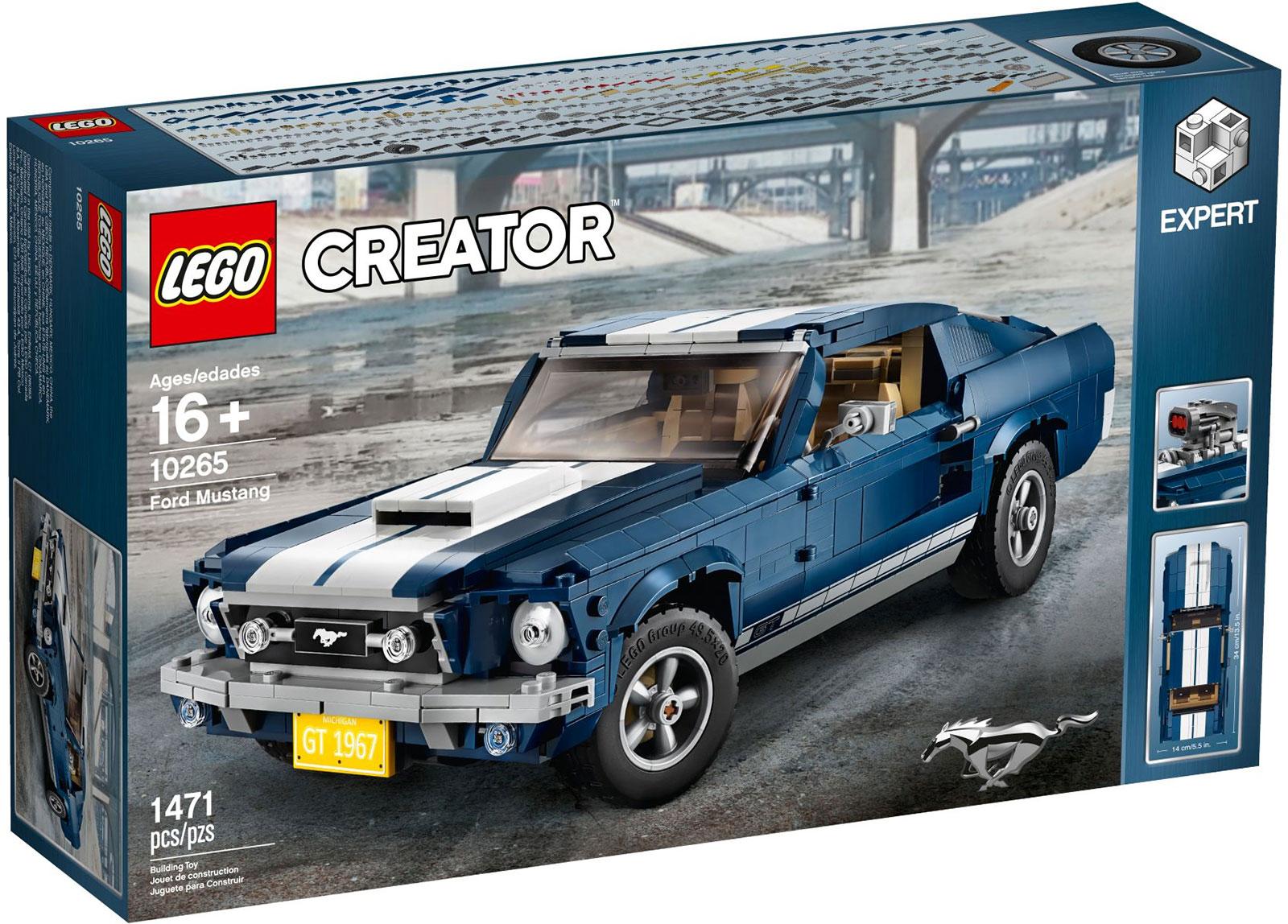 LEGO Creator Ford Mustang Box