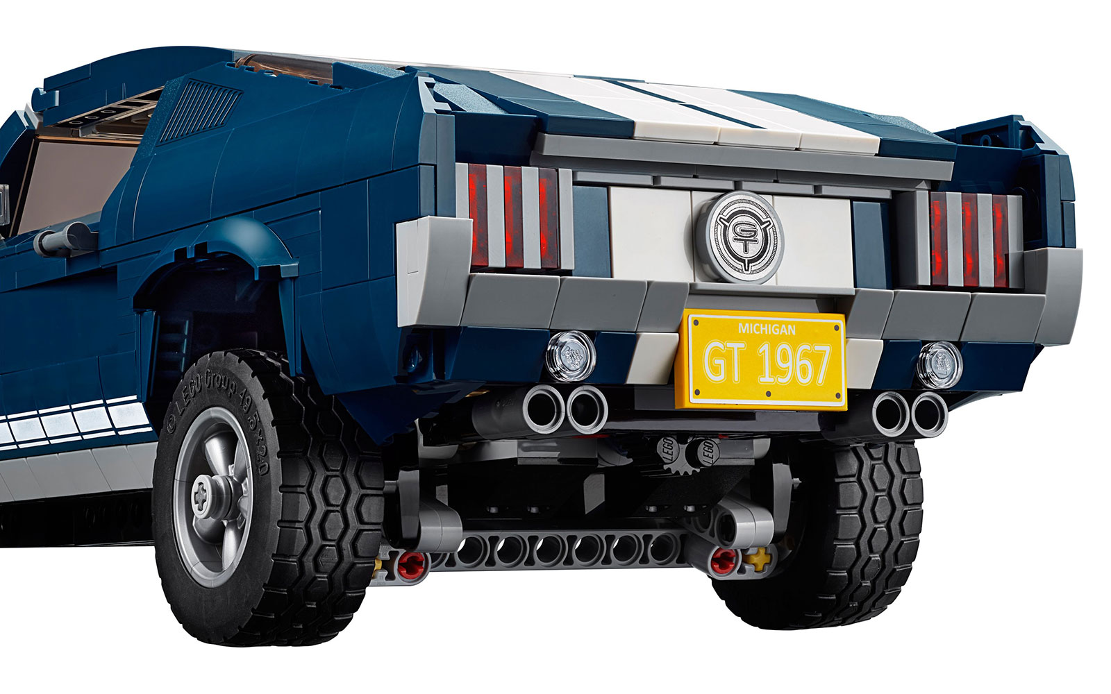 LEGO Creator Ford Mustang Rear End