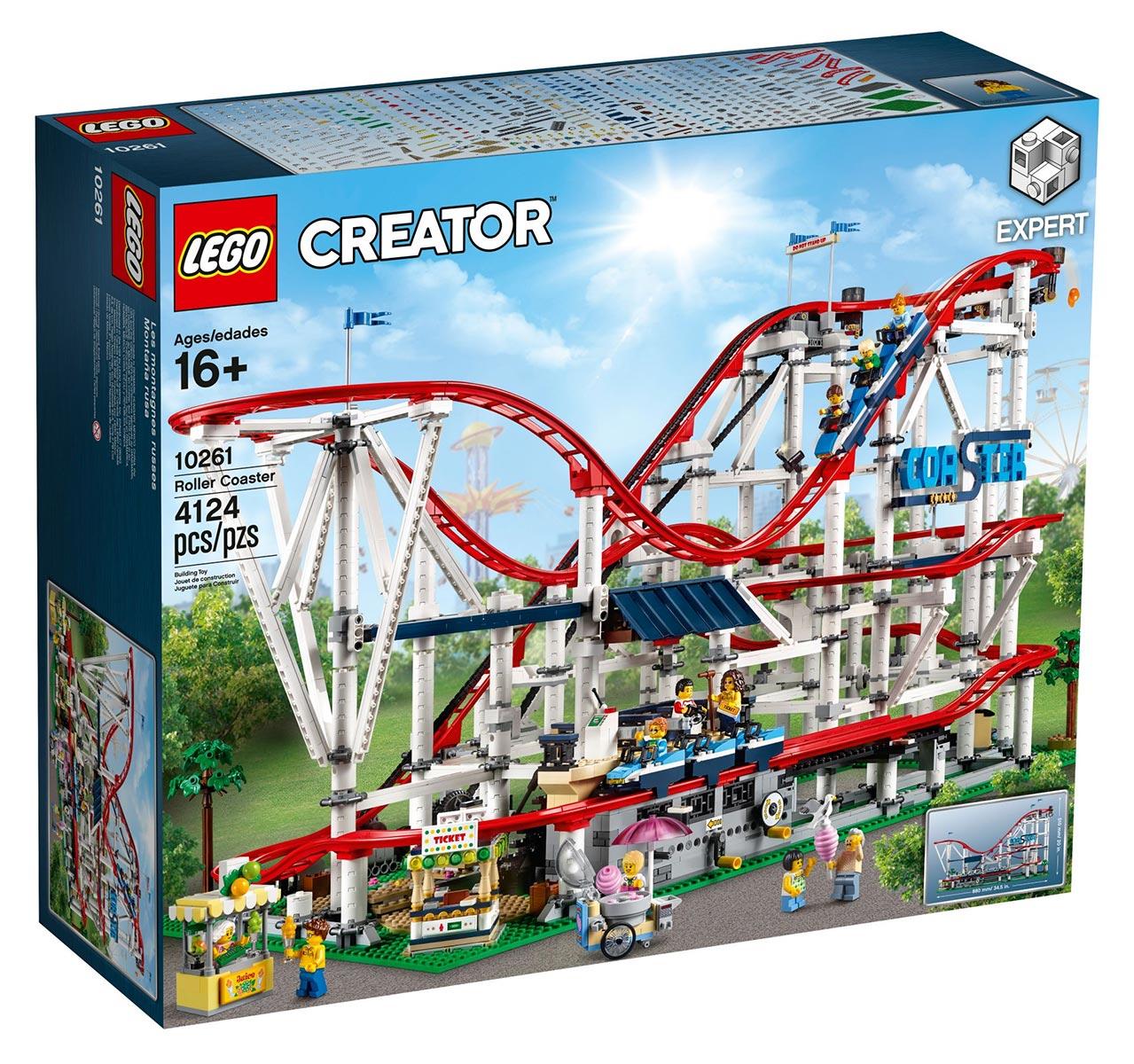Massive New LEGO Creator Roller Coaster