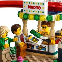 LEGO Creator Roller Coaster Photo Stand