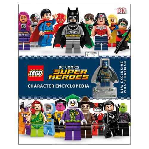 LEGO DC Comics Super Heroes Character Encyclopedia Hardcover Book