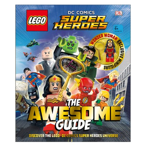 LEGO DC Comics Super Heroes The Awesome Guide Hardcover Book