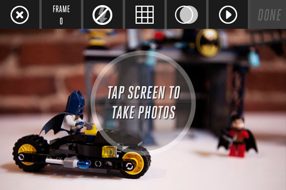 how to make lego movies stop motion