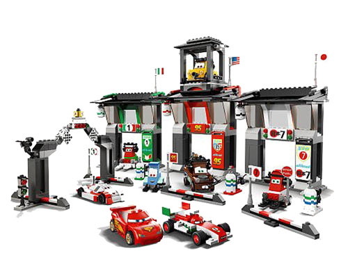 LEGO Disney Pixar Cars 2 - Limited Edition Tokyo International Circuit (8679)