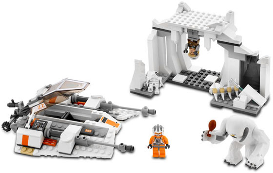 LEGO Empire Strikes Back Hoth Wampa Set