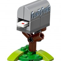 LEGO Flintstone Mail Box