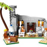LEGO Flintstones House Inside