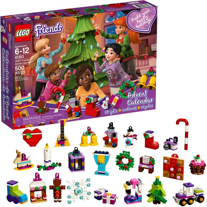 Lego Friends Christmas Sets.Lego Friends Advent Calendar 2018