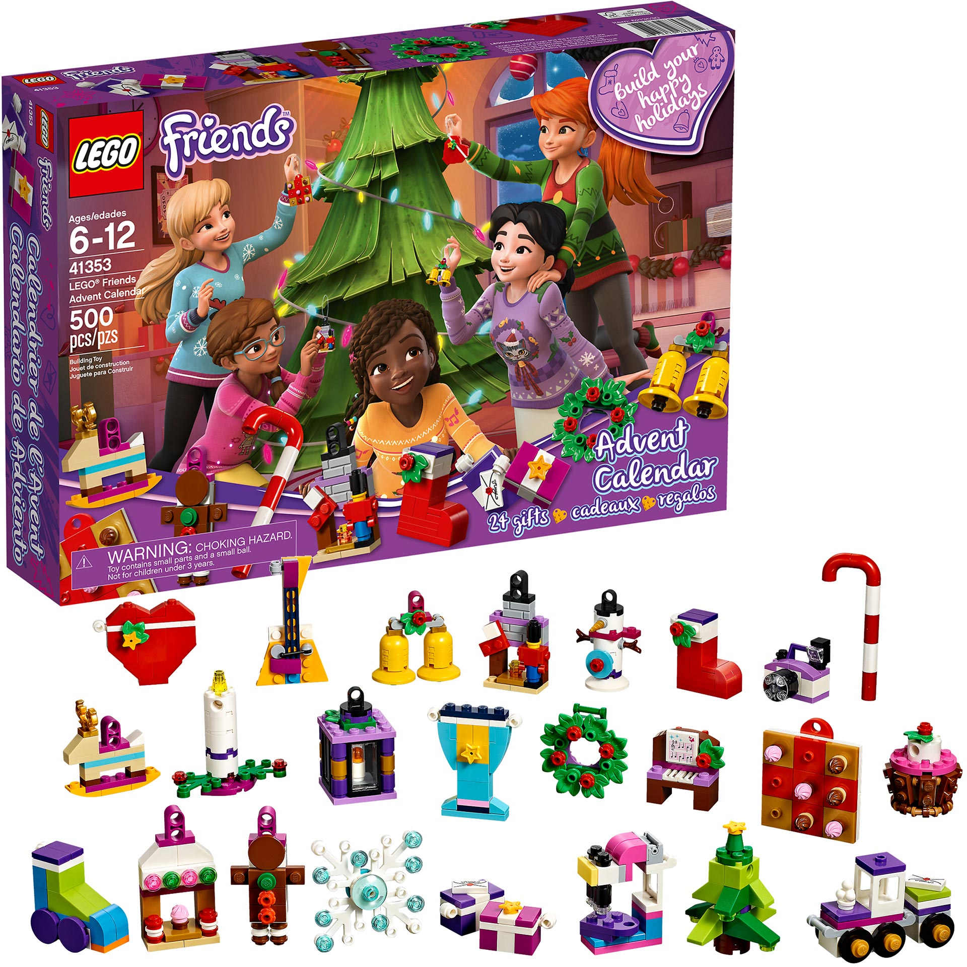 lego friends advent calendar 2018. Black Bedroom Furniture Sets. Home Design Ideas