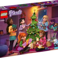 LEGO Friends Advent Calendar 41353 Box Back