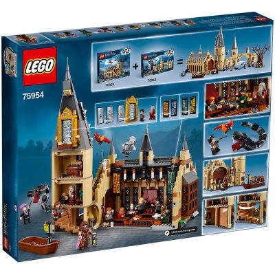 LEGO Harry Potter Hogwarts Great Hall Box Back