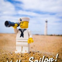 LEGO Hello Sailor!