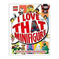 LEGO I Love That Minifigure Hardcover Book