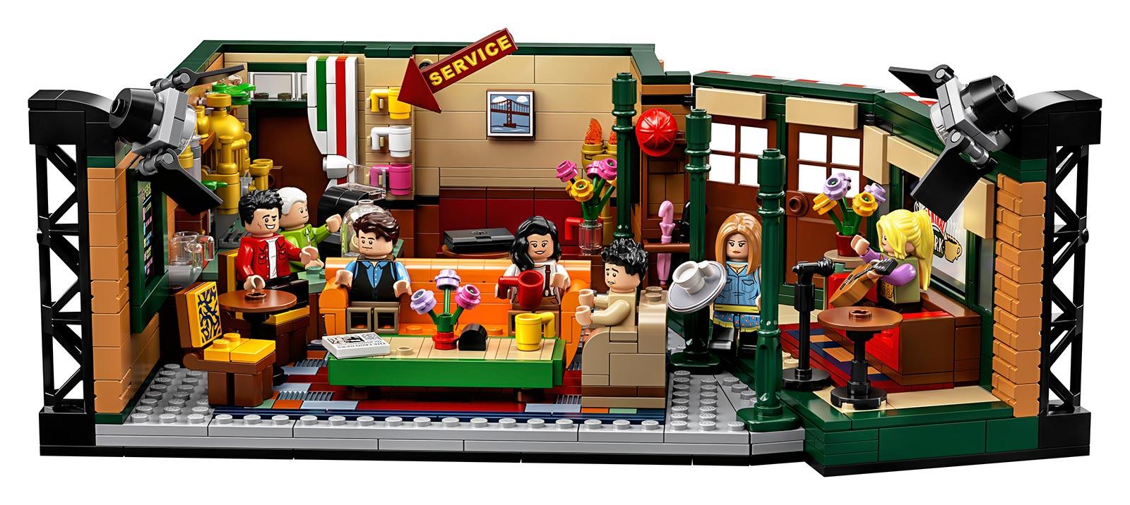 LEGO IDEAS Friends Central Perk Set 21319