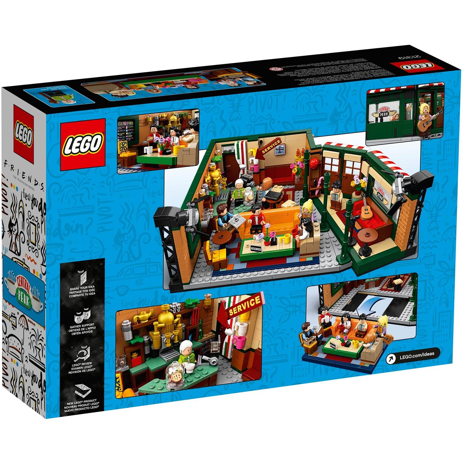 LEGO IDEAS Friends Central Perk Set Box Back