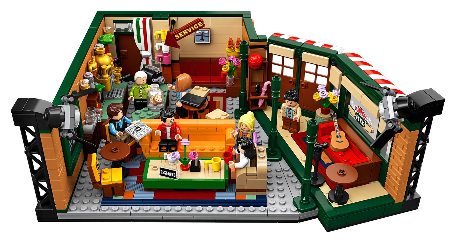 LEGO IDEAS Friends Central Perk Set