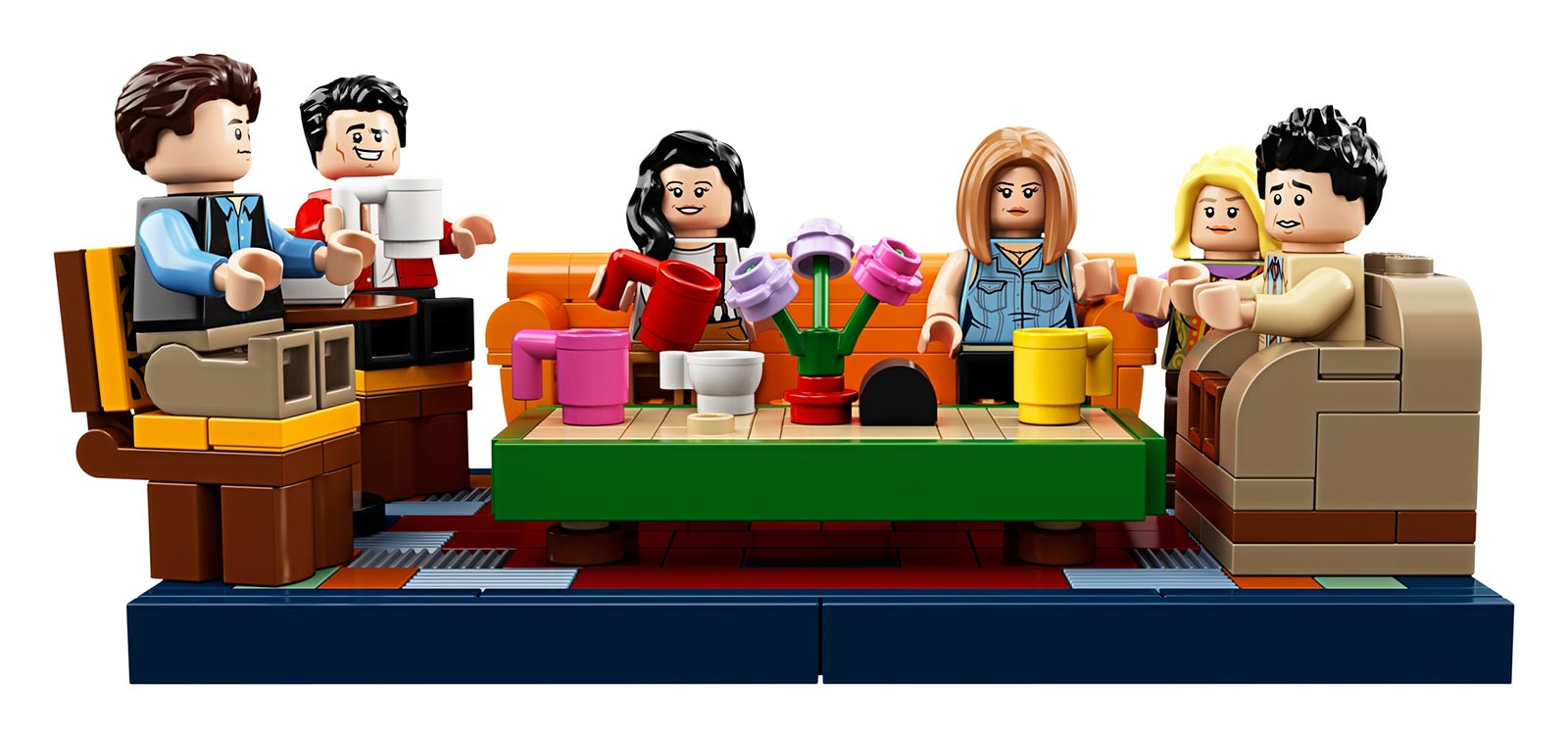 LEGO IDEAS Friends Central Perk Table