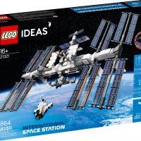 LEGO IDEAS International Space Station Box