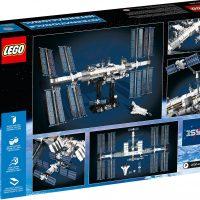 LEGO IDEAS International Space Station Box Back