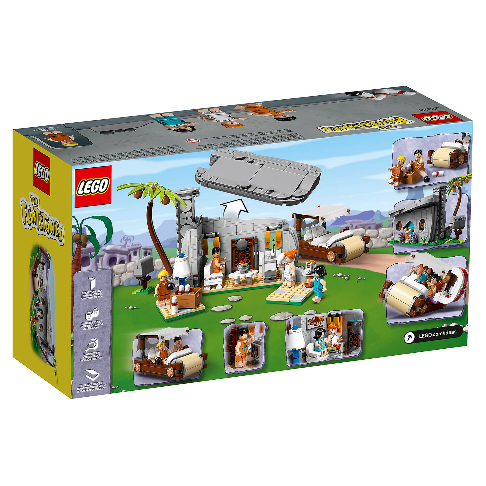 LEGO IDEAS The Flintstones #21316