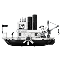 LEGO Ideas Disney Mickey Mouse Steamboat Willie 21317