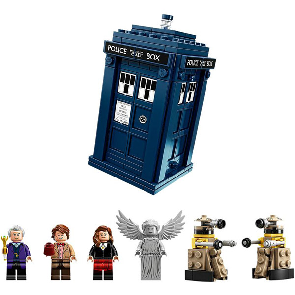 LEGO Ideas Doctor Who Playset 1