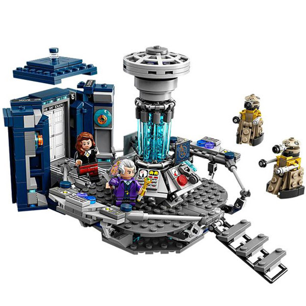 Lego Ideas Doctor Who Playset