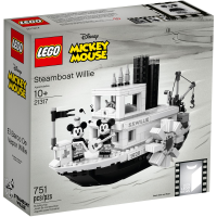 LEGO Ideas Steamboat Willie 21317 Box