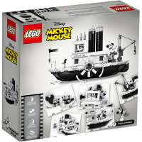 LEGO Ideas Steamboat Willie 21317 Box Back