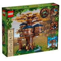 LEGO Ideas Tree House 21318 Box Back