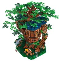 LEGO Ideas Tree House Above