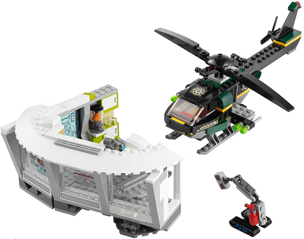LEGO Iron Man Malibu Mansion Attack 76007