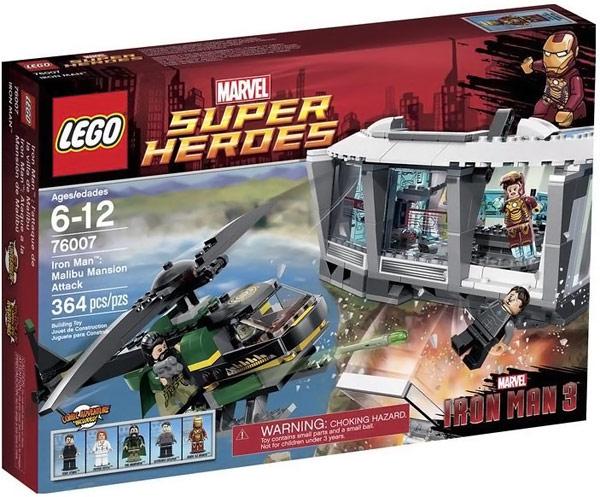 LEGO Iron Man Malibu Mansion Attack