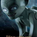 LEGO LOTR Movie Poster Gollum