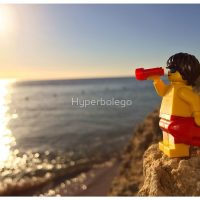 LEGO Life Guard on Duty