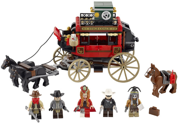 LEGO Lone Ranger Stagecoach Escape 79108