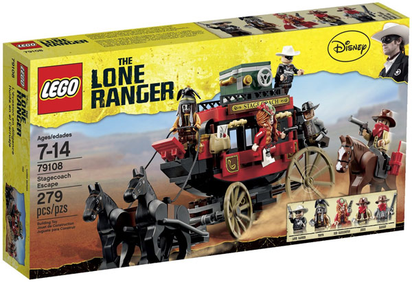 LEGO Lone Ranger Stagecoach Escape