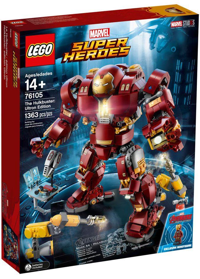 LEGO MCU Hulkbuster 76105