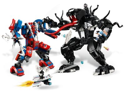 LEGO Marvel Spider Mech vs Venom #76115