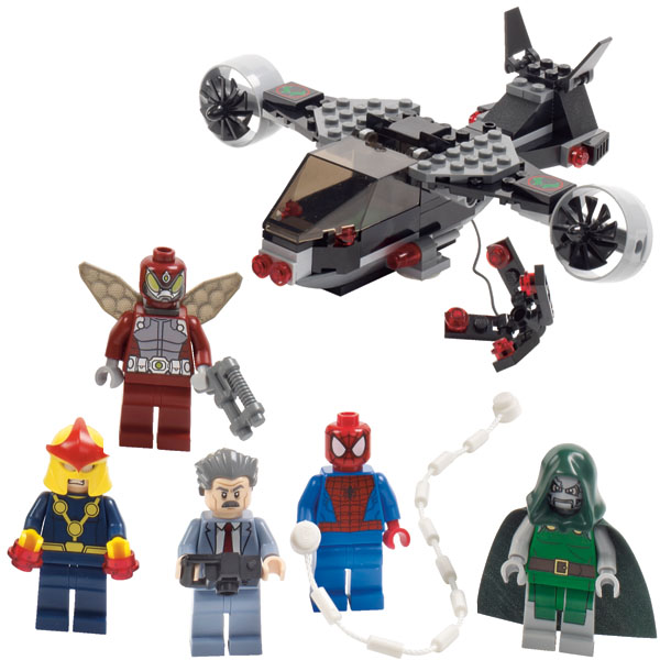 Lego announces new dc universe marvel super heroes sets