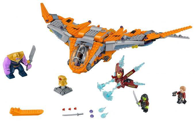 LEGO Marvel Thanos: Ultimate Battle 76107