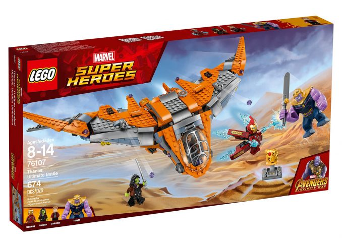 LEGO Marvel Thanos Ultimate Battle Set 76107