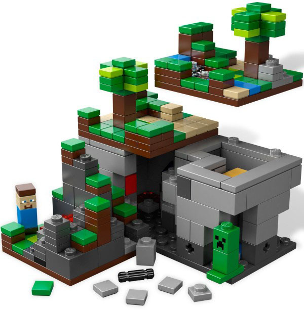Lego minecraft the end microworld for Lego world craft